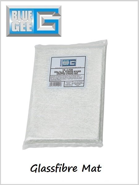 Glass fibre Chop Strand Mat 0.92m x 1m (Powder Bound)